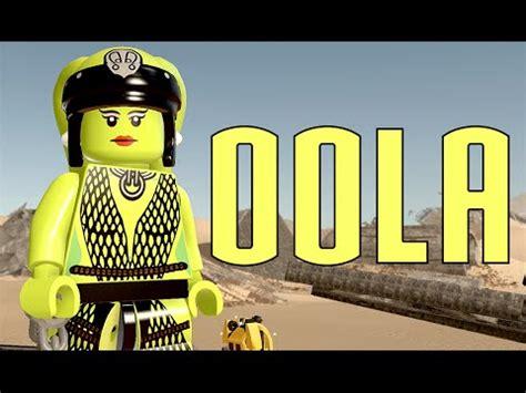 Lego Oola Starwars lego wars the awakens oola free roam gameplay