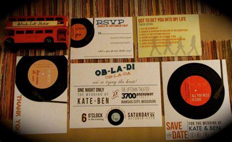 printable record invitations records wedding invitation diy printable