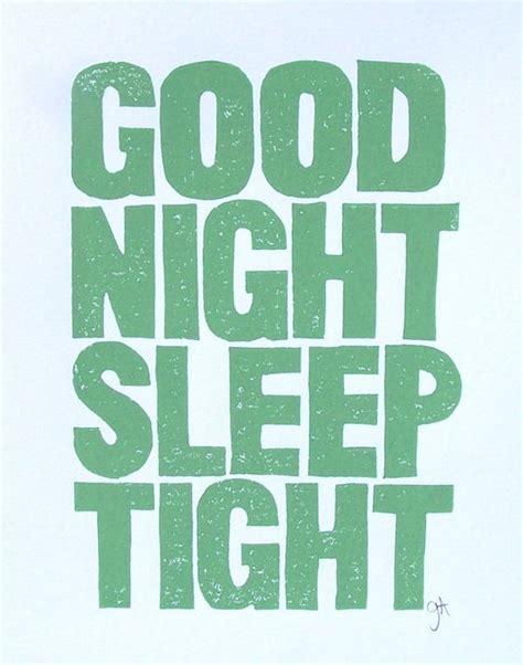 libro goodnight sleep tight good night sleep tight linocut mint green typography via etsy graphics night