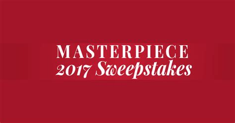 Masterpiece Sweepstakes - pbs 2017 masterpiece sweepstakes