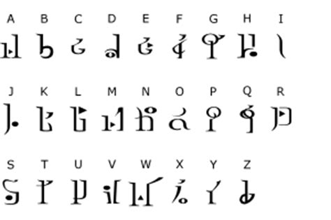 Letter Wind Waker Fonts Universe