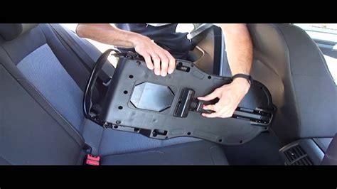 Kindersitz Auto Montage tutorial isofix einbauen isofix kindersitz montage