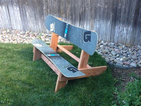ski bench the official disbanded designs snowboard bench non moto