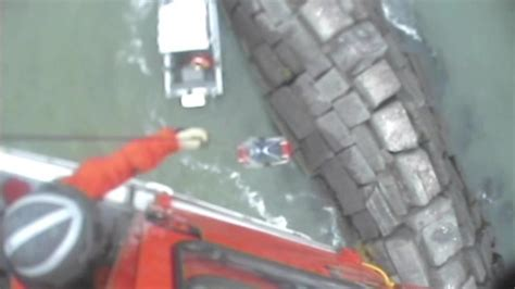 sinking boat on lake erie dvids video coast guard rescues two from sinking boat