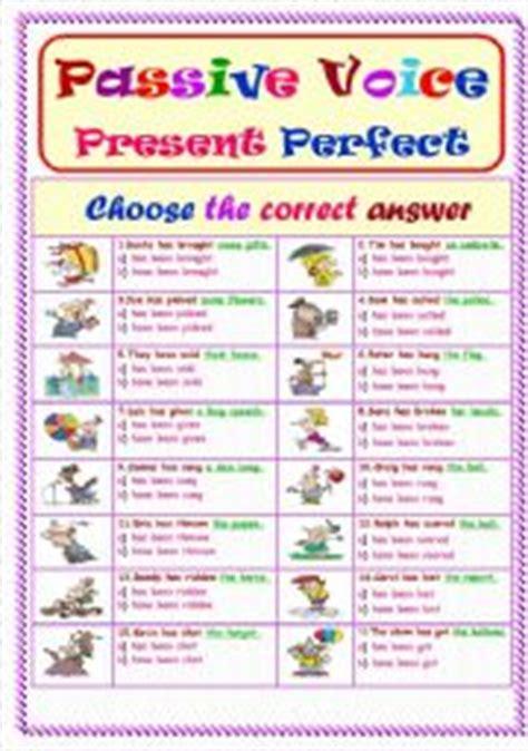 passive voice.. present perfect tense