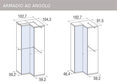 armadi ad angolo misure mobili doimo cityline misure e componibilit 224