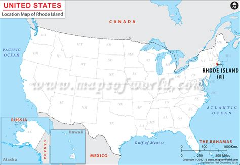 road island usa map where is rhode island location of rhode island