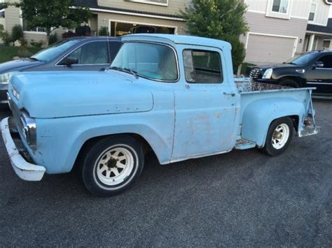 1959 ford f100 shortbed rod rat rod