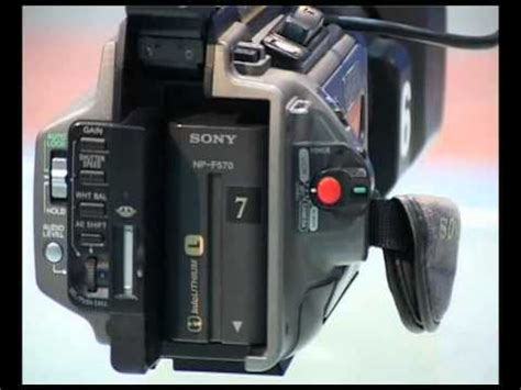 how to use sony pd 170 camera youtube