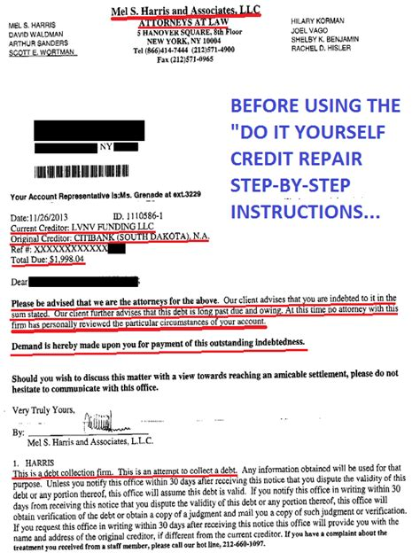 Credit Repair Letters That Work credit repair diy only to remove 3rd understand contract and you win