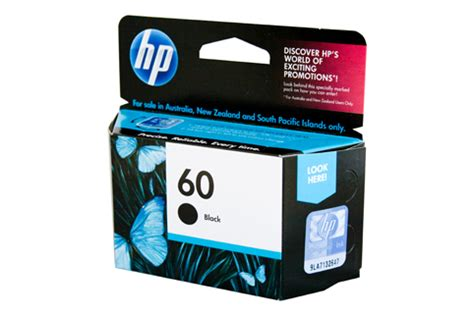 Hp 60 Ink Cartridge Black Cc640wa hp 60 cc640wa black ink genuine toner bee australia s