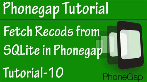 tutorial android phonegap free phonegap tutorial for android ios 10 fetch