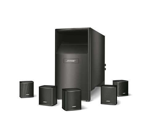 bose acoustimass 6 series v black home theater speaker