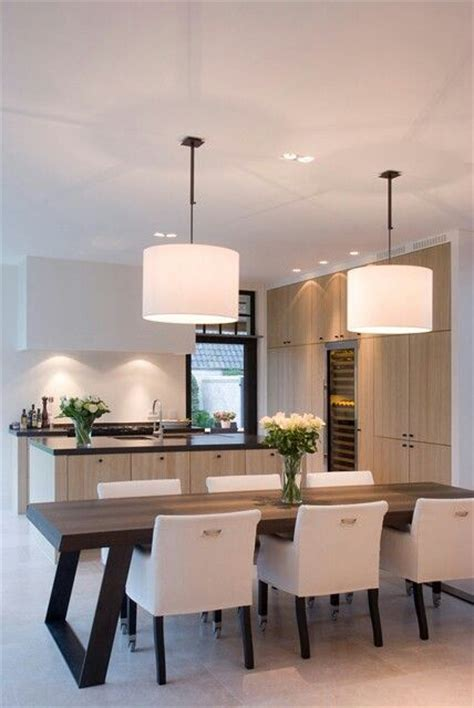 kitchen with dining table best 25 modern dining table ideas on modern