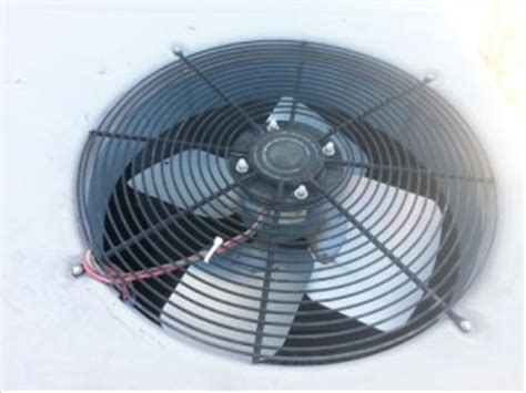 hvac condenser fan motor how to replace a condenser fan motor on a hvac