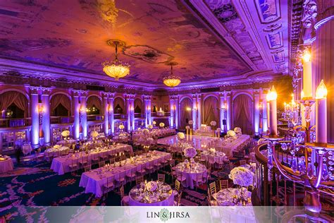 hotel wedding packages los angeles millennium biltmore hotel los angeles andrew and diane