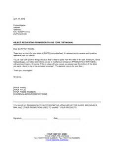 how to use templates permission to use unsolicited testimonial template
