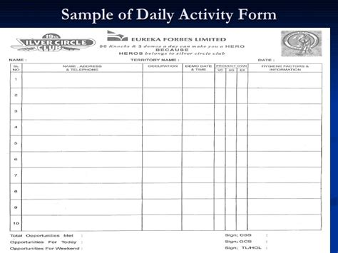 sle of daily report call report sle 28 images sales call activity report
