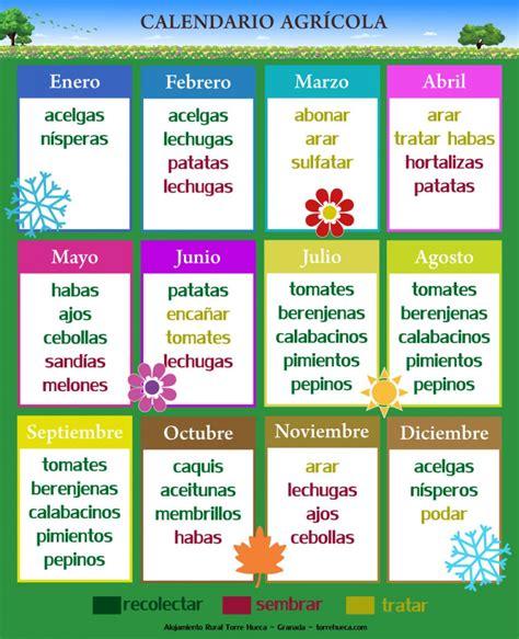 calendario agricola maya 2016 alojamiento rural cortijo torre hueca granadacalendario