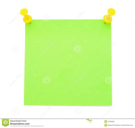 Green Dino Sticky Notes Post Its blank green post it note stock photo image of closeup