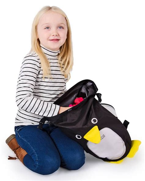 trunki penguin paddlepak backpack medium 7 5 litre size