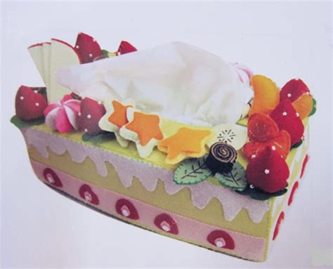 Tempat Tissue Cover Tempat Tissue Cover Tissu cake tissue box cover felt sewing for tissue box covers box covers and