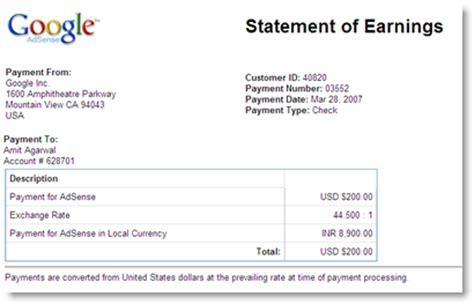 adsense uk tax google adsense adds statement of earnings
