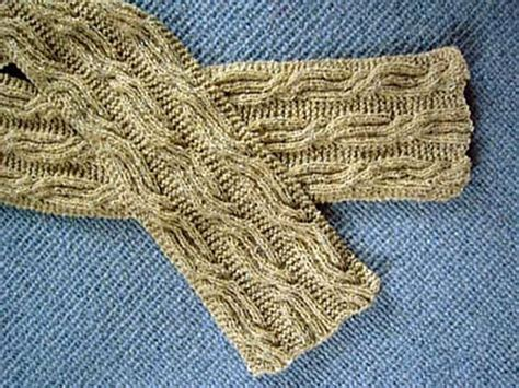 knitting pattern errors cable and rib scarf knitting pattern by anne hanson