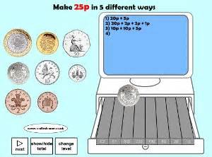 recognise and use symbols for pounds 163 and pence p