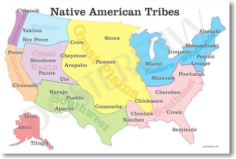american tribes by map mrs marinelli s classroom