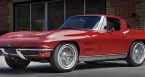1962 corvette split window 1962 chevrolet corvette sting split window coupe