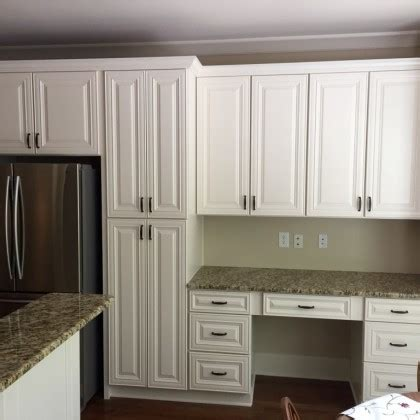 Staining Cabinets White by Cabinet Refinishing In Peachtree City Ga Mr Painter