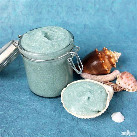 diy sea salt scrub shimmering sea salt scrub recipe soap