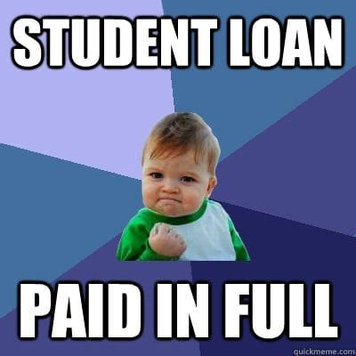 8 things i did to pay my student loan debt early