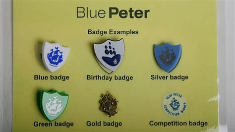 Bbc Home Design Tv Show by Bbc Blue Peter Badges History Of The Bbc