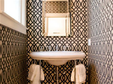 half bathroom designs half baths and powder rooms hgtv