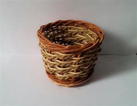 Vas Bunga Rotan jual vas bunga anyam rotan bulat kecil kimboshi