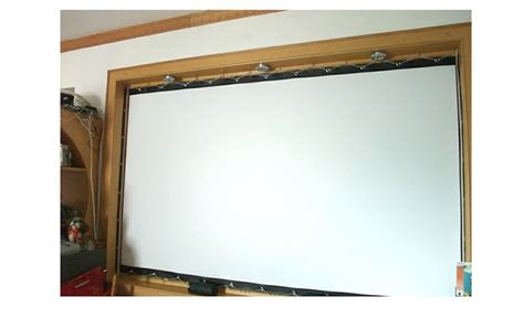 projector screen curtain new white 100inch 16 9 projector projection screen curtain