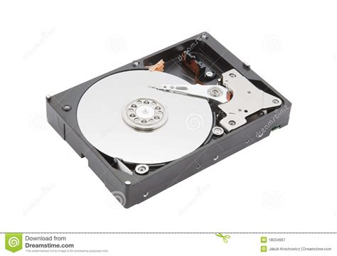 Hardisk Cpu computer disk royalty free stock image