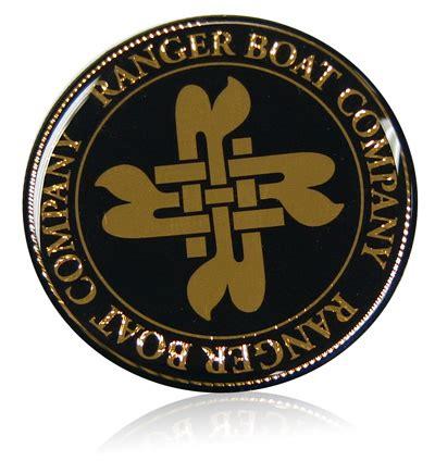 ranger boats emblem domed emblem