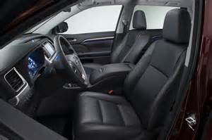 Toyota Highlander Seats 2014 Toyota Highlander Reviews And Rating Motor Trend