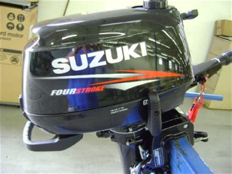 Suzuki 15 Hp Outboard Manual Suzuki Outboard Motor Df4s Df 4hp 15 Quot Four Stroke Manual
