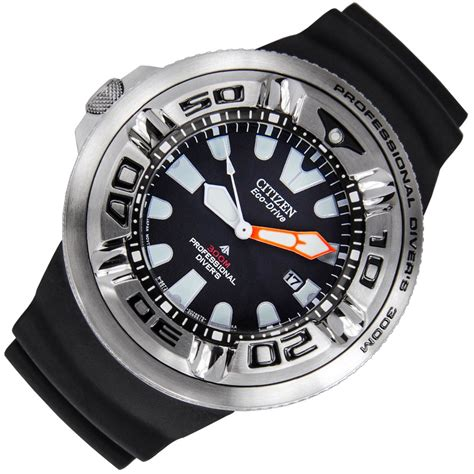 citizen dive citizen ecozilla eco drive mens 300m pro diver