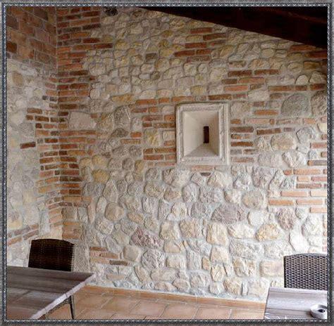 wandverkleidung stein innen zuhause dekoration ideen - Stein Wandverkleidung