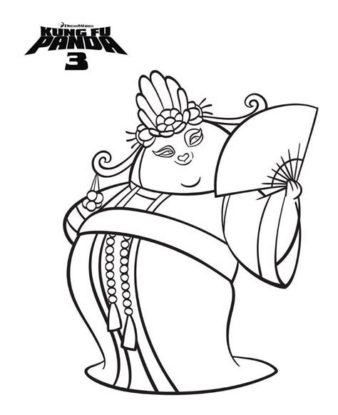 printable coloring pages kung fu panda n 7 coloring pages of kung fu panda 3