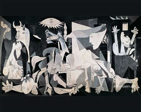 picasso paintings bombing of guernica pablo picasso guernica 1937 11x26 cubism made for