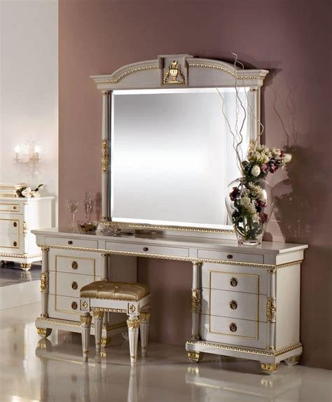 L For Dressing Table by Dressing Table With 9 Drawers Carved Details Decorated