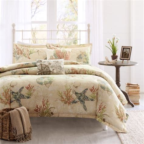 Seashell Comforter Sets by Seashell Bedding Sets