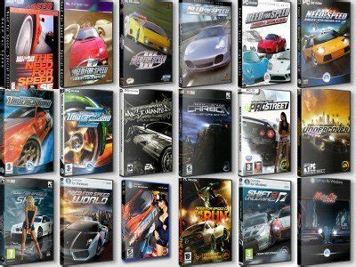 need for speed anthology (pc) all the great racing games