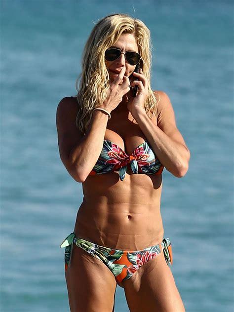 torrie wilson 2018 torrie wilson bikini pics beach in miami 4 7 2017